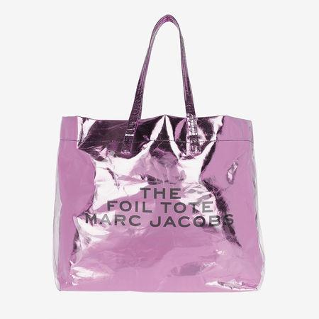 Marc Jacobs  Shopper  -  The Foil Tote Pink  - in rosa  -  Shopper für Damen weiss
