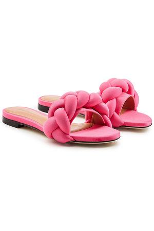 Marco de Vincenzo  Flache Sandalen pink