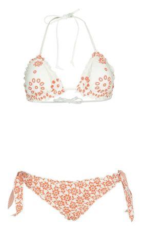 Marybloom Floral Padded Triangel Bikini Rot