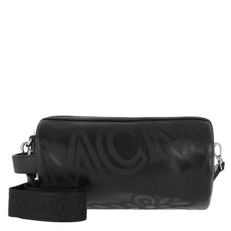 MCM  Bowling Bag  -  Crossbody Bag Small Black  - in schwarz  -  Bowling Bag für Damen schwarz
