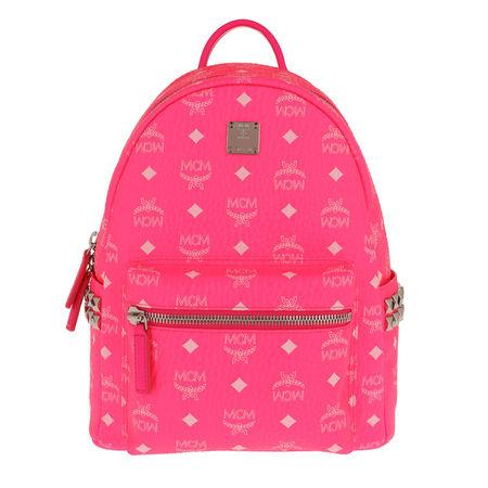 MCM  Rucksack  -  Stark Backpack Neon Pink  - in pink  -  Rucksack für Damen pink