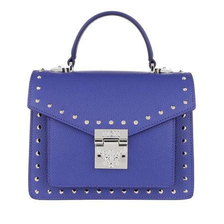 MCM  Satchel Bag  -  Patricia Satchel Small Spectrum Blue  - in blau  -  Satchel Bag für Damen blau