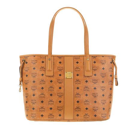 MCM  Shopper  -  Liz Medium Shopper Cognac  - in cognac  -  Shopper für Damen orange