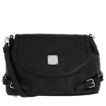 MCM  Umhängetasche  -  Essential Mini Leather Crossbody Small Black  - in schwarz  -  Umhängetasche für Damen schwarz