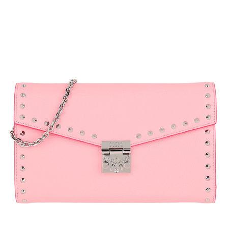 MCM  Umhängetasche  -  Large Continental Wallet Quartz Pink  - in rosa  -  Umhängetasche für Damen rosa