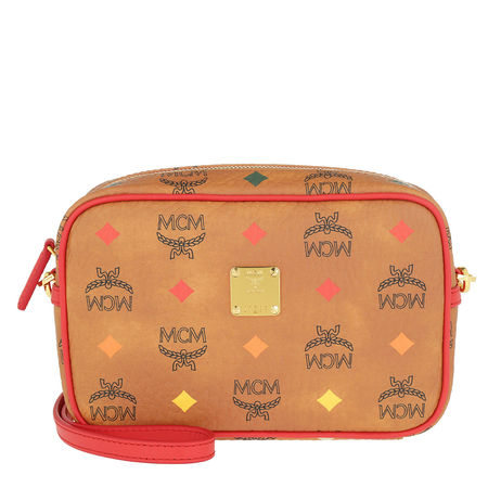 MCM  Umhängetasche  -  Spektrum Visetos Camera Bag Cognac Spektrum  - in cognac  -  Umhängetasche für Damen orange