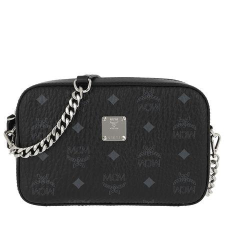 MCM  Umhängetasche  -  Visetos Original Camera Bag Black  - in schwarz  -  Umhängetasche für Damen schwarz