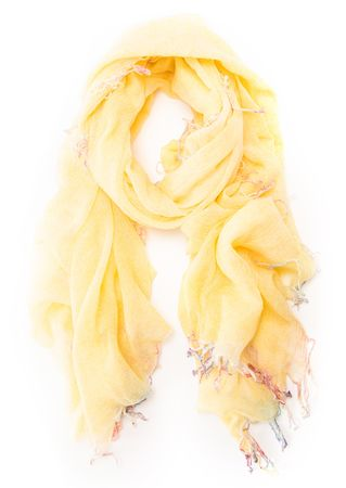MEL&Davis NY Schal aus Kaschmir und Wolle weiss