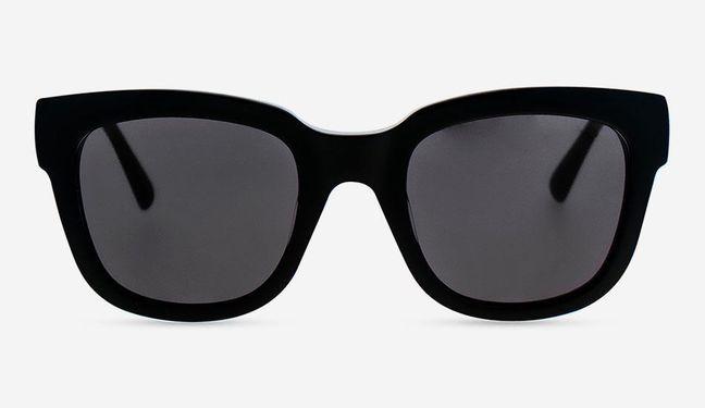 MessyWeekend  Sonnenbrille Liv Schwarz weiss