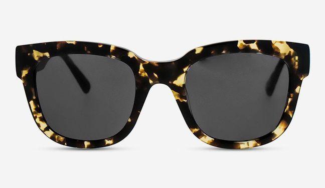 MessyWeekend  Sonnenbrille Liv Tortoise weiss