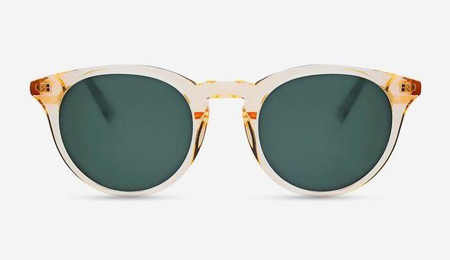 MessyWeekend  Sonnenbrille New Depp Champagne weiss
