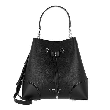 Michael Kors  Beuteltasche  -  Mercer Gallery Medium Bucket Shoulder Black  - in schwarz  -  Beuteltasche für Damen schwarz