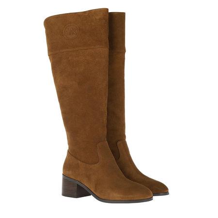 Michael Kors  Boots  -  Dylyn Boot Amber  - in cognac  -  Boots für Damen braun