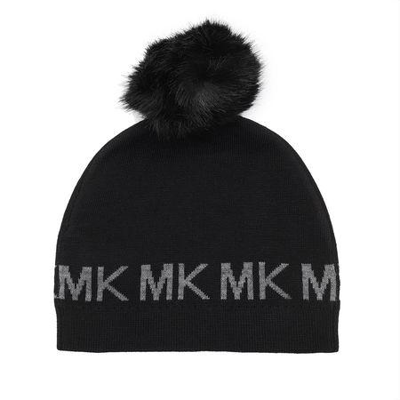 Michael Kors  Caps  -  Beanie Black  - in schwarz  -  Caps für Damen schwarz