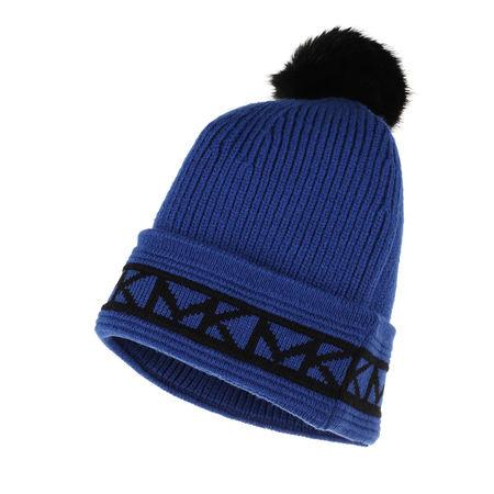 Michael Kors  Caps  -  Trim Pom Beanie Twilight Blue  - in blau  -  Caps für Damen blau