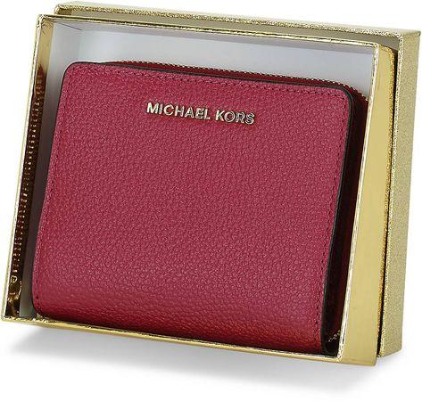 Michael Kors , Geldbörse Md Za Snap Wallet in bordeaux, Geldbörsen für Damen pink