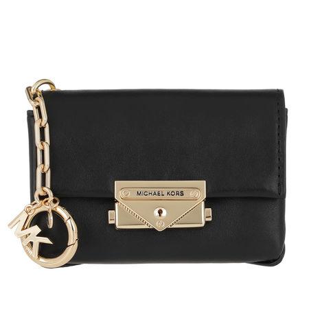 Michael Kors  Keychain  -  Charms Leather Cece Bag Charm Black  - in schwarz  -  Keychain für Damen schwarz
