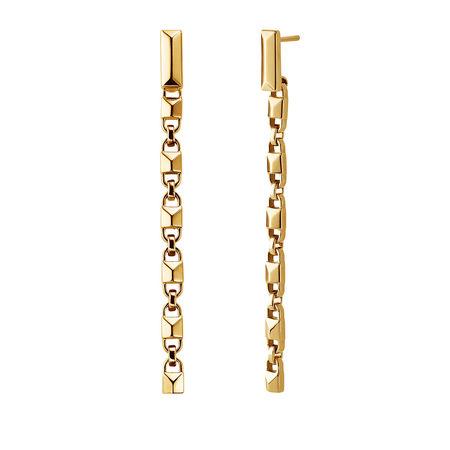Michael Kors  Ohrringe  -  MKC1012AA710 Linear Mercer Link Gold  - in gold  -  Ohrringe für Damen orange