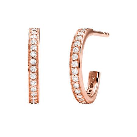 Michael Kors  Ohrringe  -  MKC1177AN791 Premium Earrings Roségold  - in roségold  -  Ohrringe für Damen braun