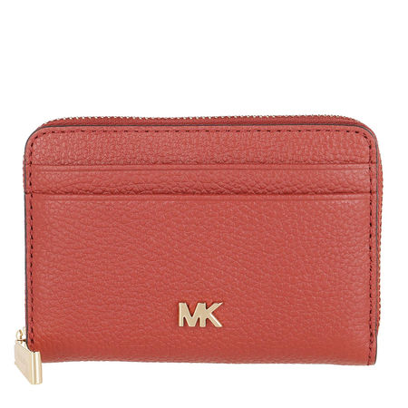 Michael Kors  Portemonnaie - Coin And Card Case - in braun - für Damen rot