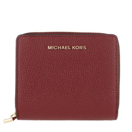 Michael Kors  Portemonnaie  -  Jet Set Medium Snap Wallet Brandy  - in orange  -  Portemonnaie für Damen braun