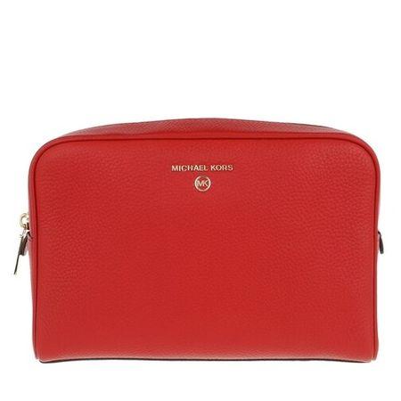 Michael Kors  Reisegepäck - Jet Set Charm Travel Cosmetic Bag - in rot - für Damen
