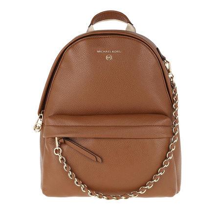 Michael Kors  Rucksack  -  Slater Medium Backpack Luggage  - in cognac  -  Rucksack für Damen braun