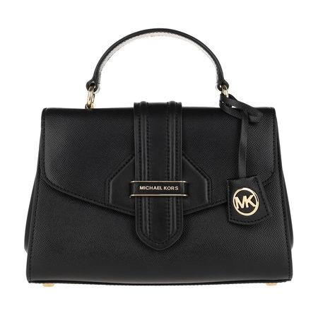 Michael Kors  Satchel Bag  -  Bleecker Small Satchel Black  - in schwarz  -  Satchel Bag für Damen schwarz