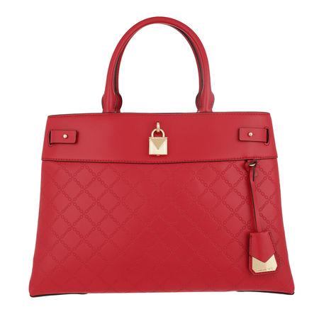 Michael Kors  Satchel Bag  -  Gramercy Large Satchel Bright Red  - in rot  -  Satchel Bag für Damen rot