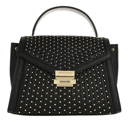 Michael Kors  Satchel Bag  -  Whitney MD TH Satchel Black  - in schwarz  -  Satchel Bag für Damen schwarz