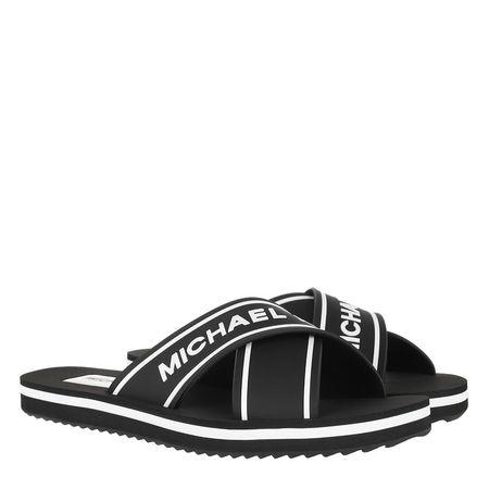 Michael Kors  Schuhe  -  Sparrow Slide Black  - in schwarz  -  Schuhe für Damen schwarz