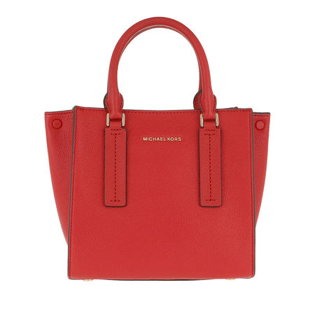 Michael Kors  Shopper  -  Alessa Medium Shopping Bag Bright Red  - in rot  -  Shopper für Damen rot