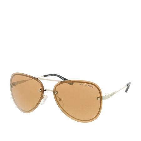 Michael Kors  Sonnenbrille  -  MK 0MK1026 59 10142C  - in gold  -  Sonnenbrille für Damen orange