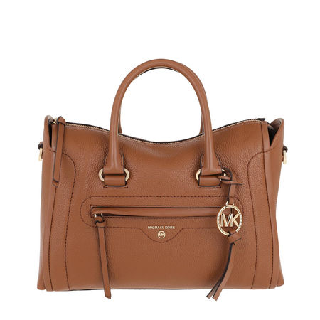 Michael Kors  Tote  -  Carina MD Satchel Bag Luggage  - in cognac  -  Tote für Damen braun