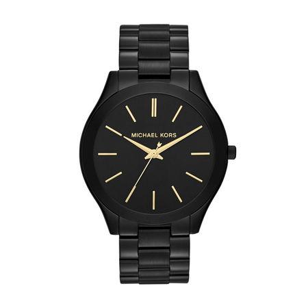 Michael Kors  Uhr - MK3221 Slim Runway Ladies Watch - in black - für Damen schwarz