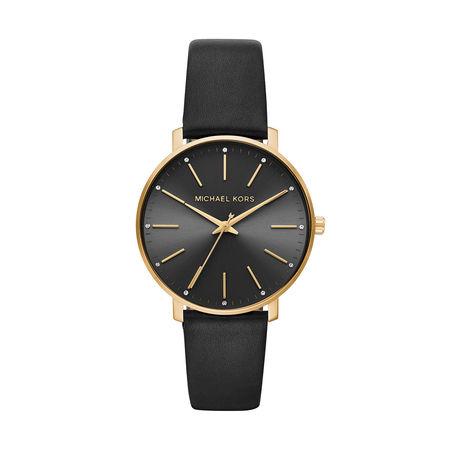Michael Kors  Uhr  -  Pyper Ladies Watch Gold  - in schwarz  -  Uhr für Damen grau