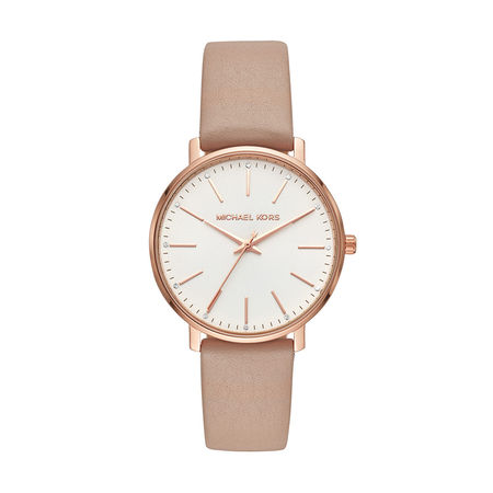 Michael Kors  Uhr  -  Pyper Ladies Watch Roségold  - in beige  -  Uhr für Damen braun