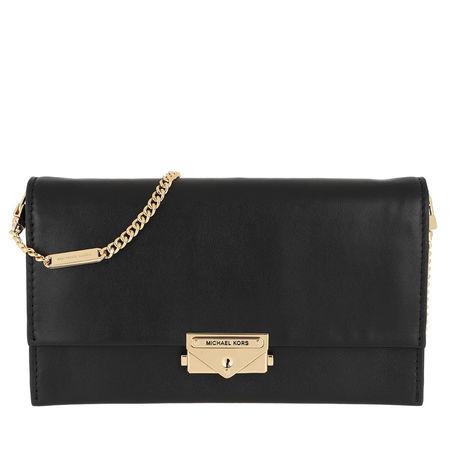 Michael Kors  Umhängetasche  -  Cece Large Clutch Xbody Bag Black  - in schwarz  -  Umhängetasche für Damen schwarz