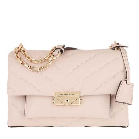 Michael Kors  Umhängetasche  -  Cece MD Cnv Chain Shoulder Soft Pink  - in rosa  -  Umhängetasche für Damen braun