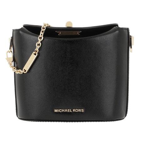 Michael Kors  Umhängetasche  -  Grace Small Trunk Xbody Black  - in schwarz  -  Umhängetasche für Damen schwarz