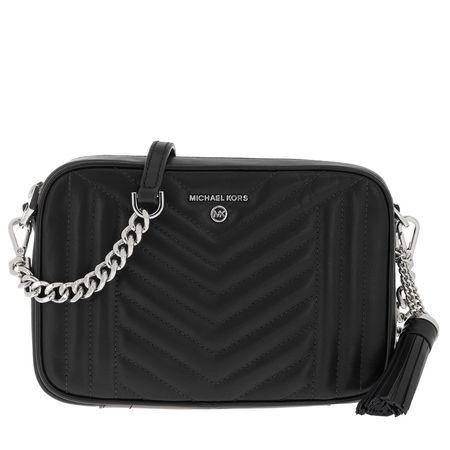 Michael Kors  Umhängetasche  -  Jet Set Charm MD Camera Bag Black  - in schwarz  -  Umhängetasche für Damen schwarz