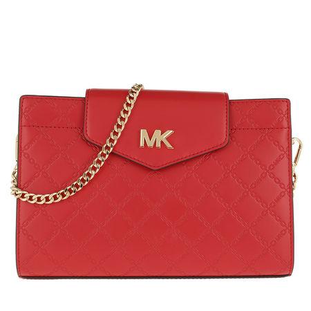 Michael Kors  Umhängetasche  -  Large Convertible Crossbody Bag Bright Red  - in rot  -  Umhängetasche für Damen rot