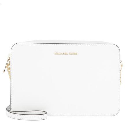 Michael Kors  Umhängetasche  -  Large Ew Crossbody Bag Optic White  - in weiß  -  Umhängetasche für Damen weiss