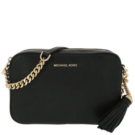 Michael Kors  Umhängetasche  -  Medium Camera Bag Black  - in schwarz  -  Umhängetasche für Damen schwarz