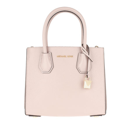 Michael Kors  Umhängetasche  -  Mercer MD Acrdion Messenger Bag Soft Pink  - in rosa  -  Umhängetasche für Damen braun