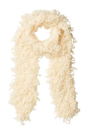 Missoni  Fransenschal mit Wolle und Mohair orange