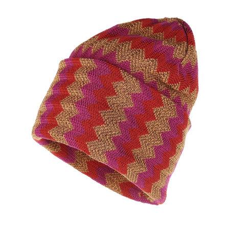 Missoni  Mützen - Chevron Knit Hat - in bunt - für Damen braun