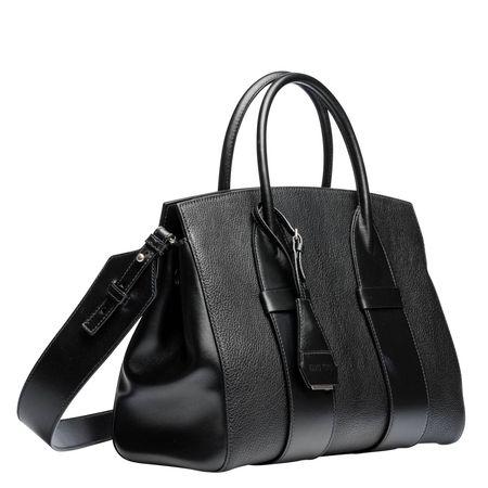 Miu Miu ® - Handtasche aus Leder in Schwarz für Damen, Größe UNI schwarz