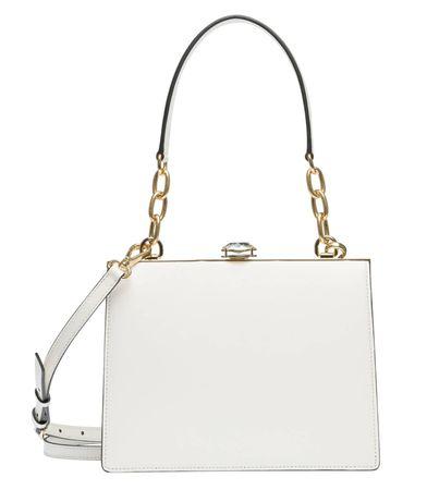 Miu Miu ® - Handtasche aus Leder in Weiß für Damen, Größe UNI weiss