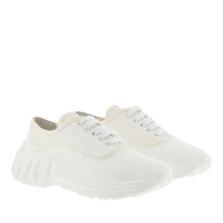 Miu Miu  Sneakers  -  Bicolor Sneakers White  - in weiß  -  Sneakers für Damen beige